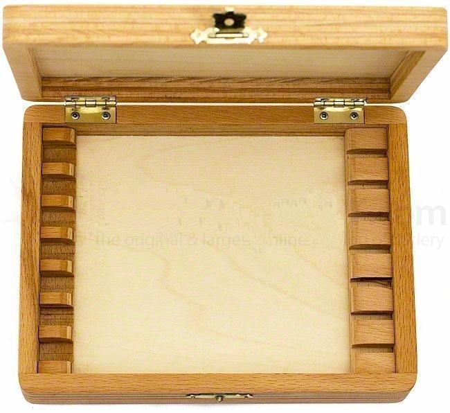 Деревянная коробка для бритв 843,000