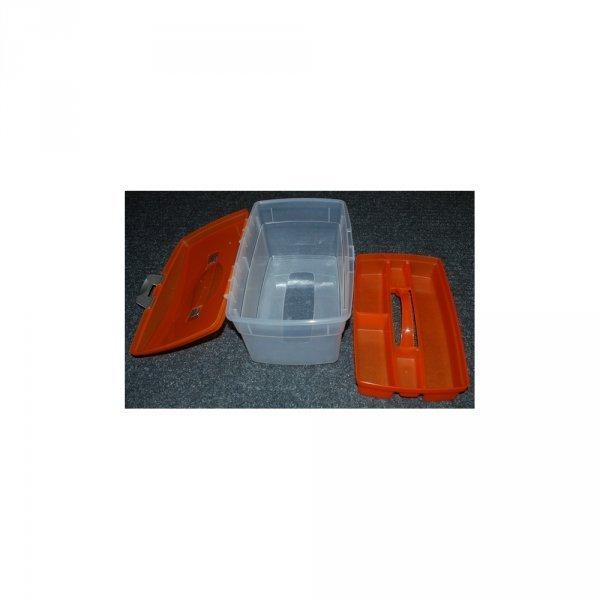 Пластиковый ящик со вставкой - большего размера 1