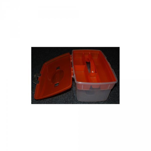 Пластиковый ящик со вставкой - большего размера 2