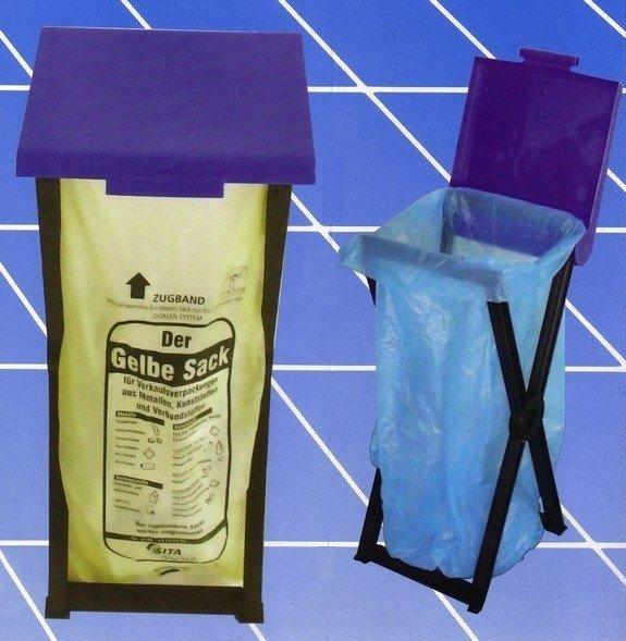 Складная пластиковая подставка RIVAL 560 000 для мешков для мусора 1