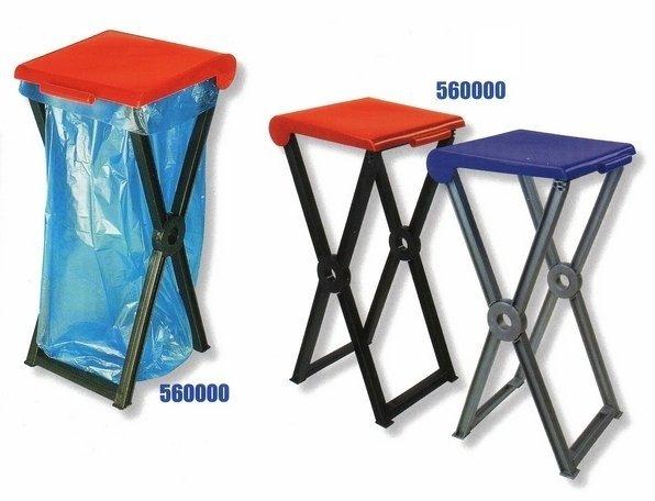 Складная пластиковая подставка RIVAL 560 000 для мешков для мусора 2