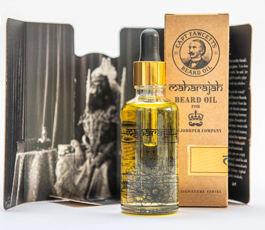 Olej na plnovous Cpt. Fawcett Maharajah (10 ml) 2